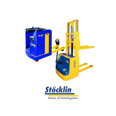 Manuelle/elektrische Lagertechnik und Handhubwagen von Stoecklin
