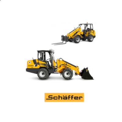 Hoflader, Radlader und Teleradlader von Schäffer, made in Germany